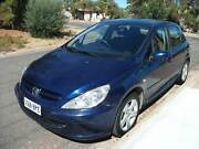 Peugeot 307 XSE 4 Star ANCAP Safety Rated Manual Hatch Christie Downs Morphett Vale Area Preview