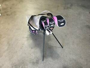 Junior golf clubs Callaway xj