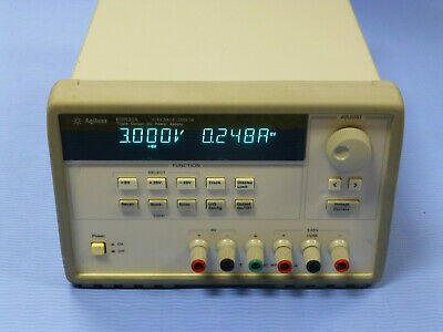 Agilent 3631a Programmable Triple Output Dc Power Supply