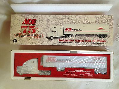 Vintage 75th Anniversary Ace Hardware Tractor Trailer Truck