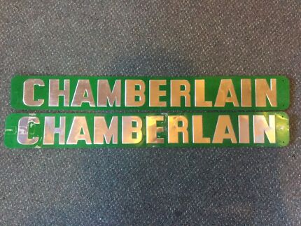 Antique Chamberlain Tractor Signs Caroona Gunnedah Area Preview