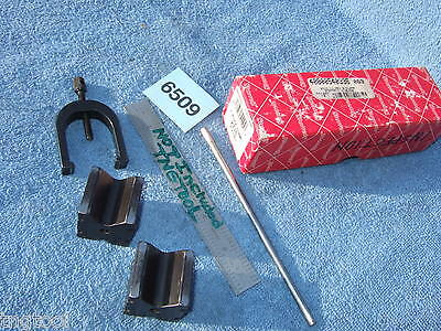 Starrett V-blocks 271c 1 Clamp 4886 Usa Made Machinist Toolmaker Mill Hardened