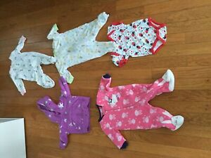 Baby girl lot of clothes 0-3 months