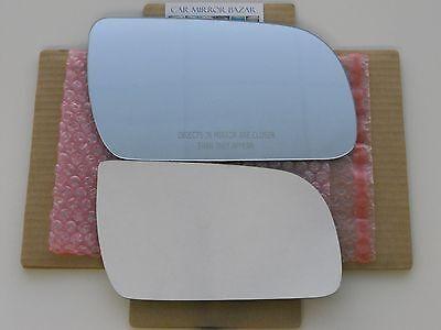 B735R 1985-2005 CHEVY ASTRO GMC SAFARI Mirror Glass Right Side RH + Adhesive Pad ()