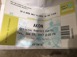 Looking for Vip Akon Ticket!!