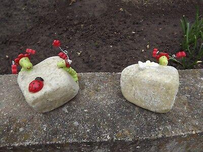 Raupe Nimmersatt Deko-steine