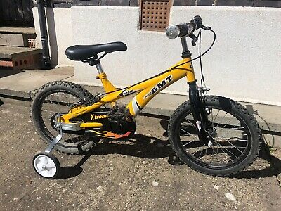GMT Extreme Kids Bike with removable stabilisers