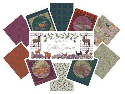Lewis & Irene Celtic Coorie Fabric sold in multiples of half metres