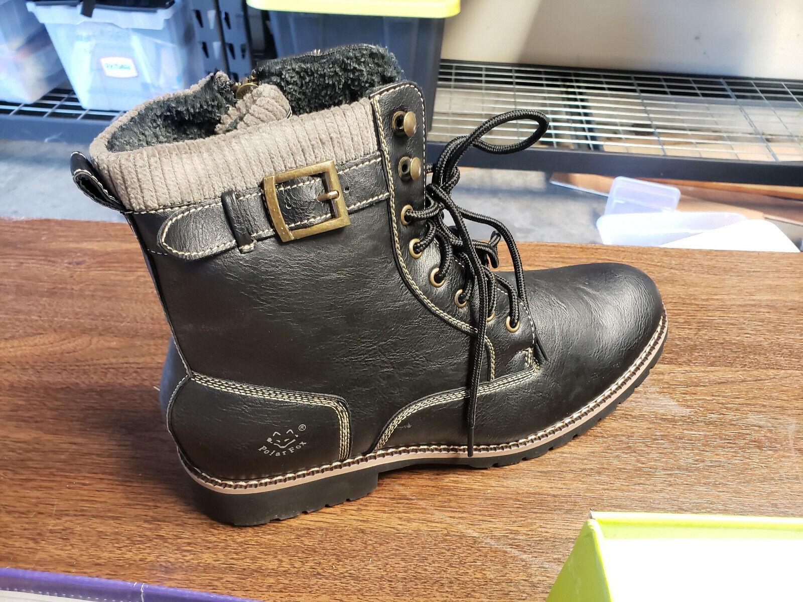 Polar Fox MPX808572F Boots Size 13 Swastika Prints RARE RECA