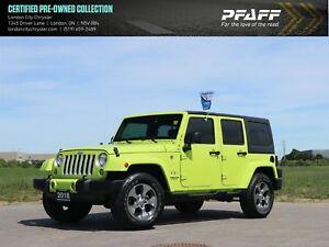 2017 Jeep Wrangler Unlimited Sahara 4x4, GPS, Remote Start