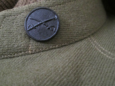 WWI  US Army Cavalry Collar Disk