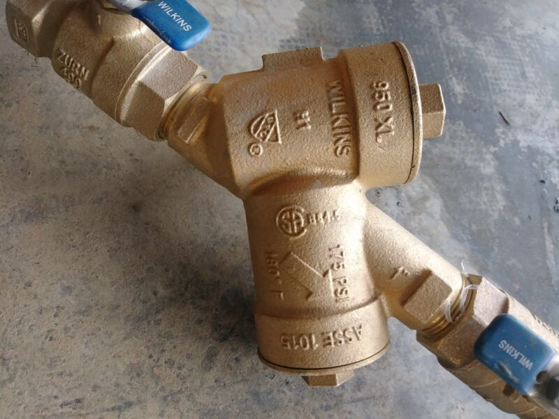 """Wilkins Zurn 950XL-1 Double Check Valve Assembly 1"""""""