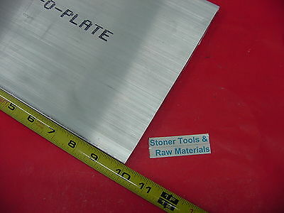 12 X 8 X 10 Aluminum 6061 Flat Bar Solid T6511 New Mill Stock Plate .50