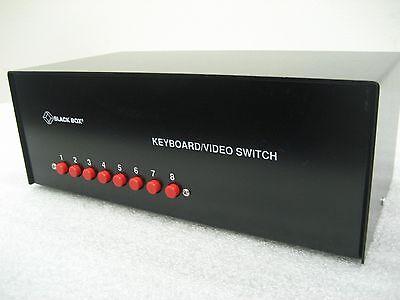 Novellus Ipec Speedfam 0250-700637 Black Box Sw934a Keyboard Video Switch