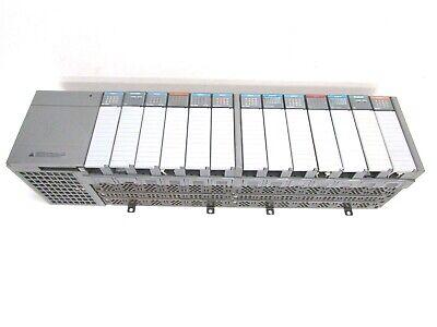 Allen Bradley Slc500 1746-a13 13-slot Rack Ser. B W Power Supply Input Output