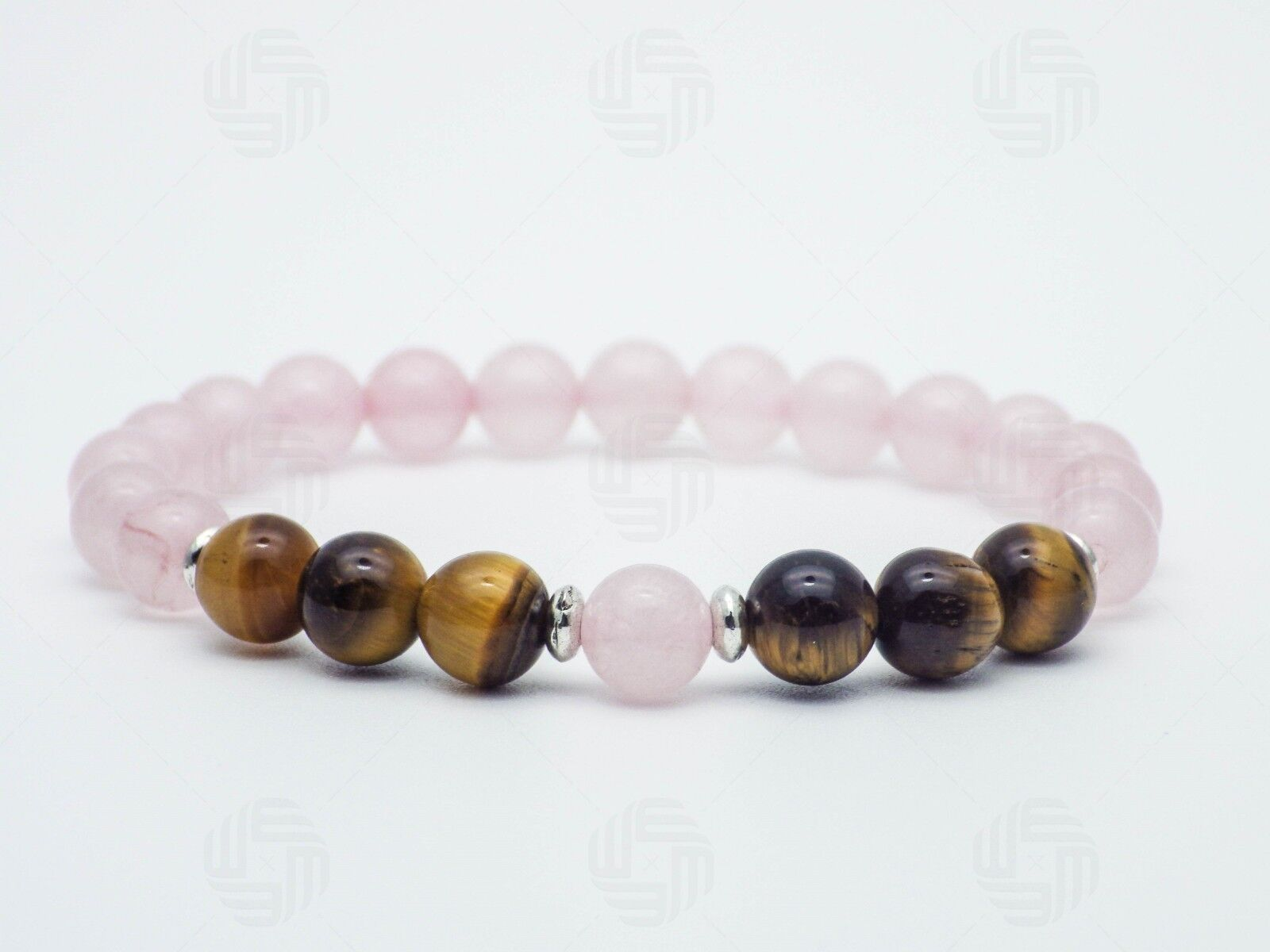 Tiger Eye Natural Onyx Stone Bead Bracelet Chakra Reiki Meditation Yoga Gift UK