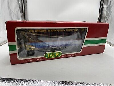 30808 LGB Bay Area Convention Coach 1998 lights metal wheels G Scale