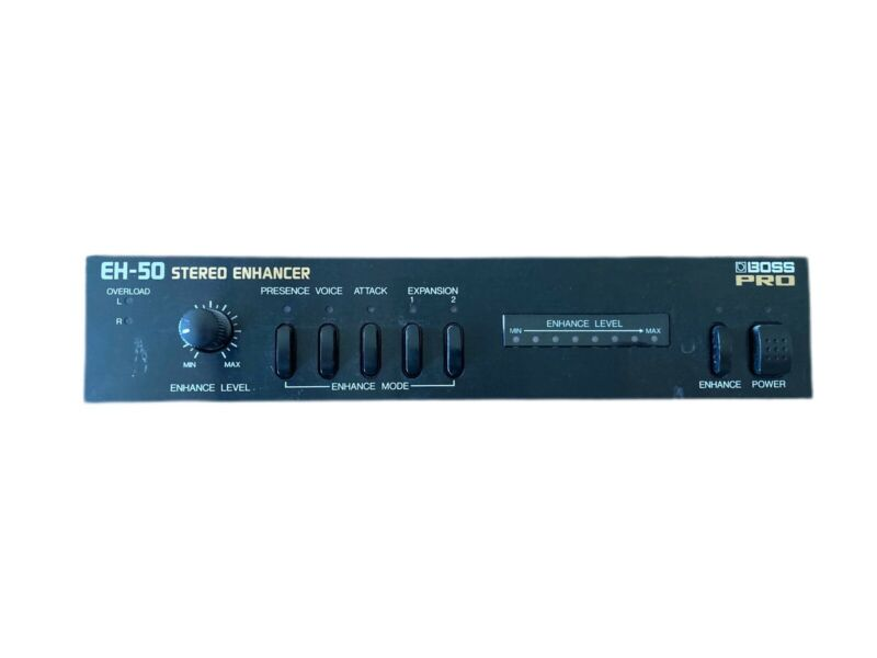 Boss Pro EH-50 Stereo Enhancer Music Equipment Made In Japan W/O Adapter