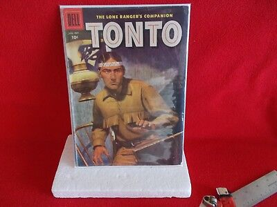 """DELL COMIC BOOK FROM AUG./OCT. 1956, """"TONTO"""", ISSUE # 24"""