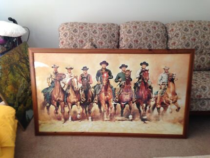 Magnificent 7 framed picture