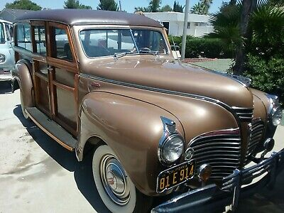 1941 Plymouth woodie special deluxe 1941 Plymouth woodie  Wagon Brown RWD Manual special deluxe