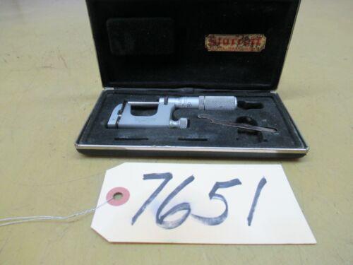 Starrett Model 220 Micrometer (CTAM #7651)