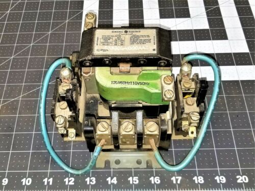 GE LIGHTING CONTACTOR 60A 120VAC Coil CR260L41300AAZ Tested Working Pull [Z5S3]