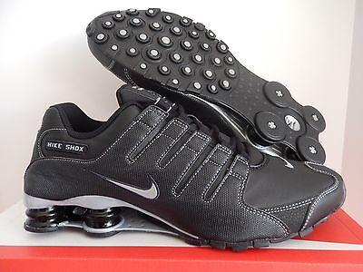 Nike Shox Nz Black Anthracite Metallic Silver