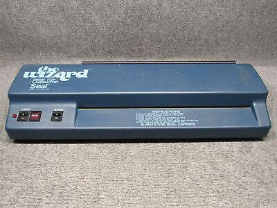 Seal The Wizard Desk Top Laminator Model 18 Laminating Machine