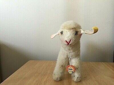 vintage steiff Stuffed animal -- Rare find Lamb