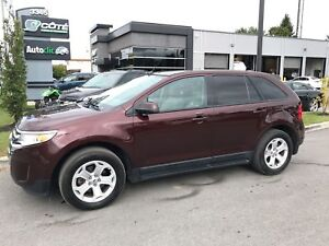 2012 Ford Edge SEL/CUIR/TOIT PANORAMIQUE/ECOBOOST/CAMERA RECULE
