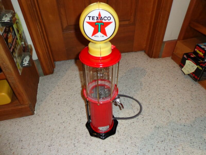Vintage Texaco Fire Chief Gas Pump Lighted Globe Mint Condition Jolly Good Indus