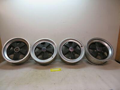 78-83 Porsche 911 SC Targa #1105 Wheels, Fuchs OEM Staggared 6x16 & 7x16