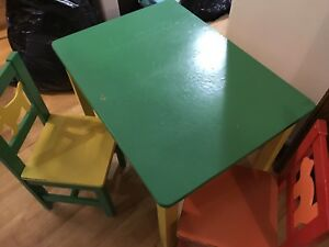 Free IKEA table and chairs.