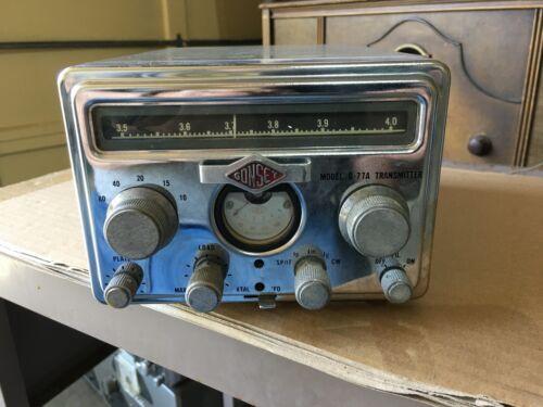 Vintage  GONSET ham model G-77A transmitter used