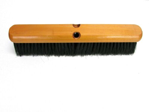"NOS! 16"" GARAGE BROOM SOFT 3"" BRISTLE BRUSH"