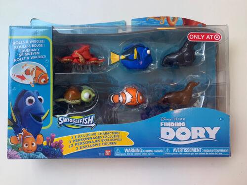 Finding Dory Swigglefish Exclusive Figure 6-Pack Disney Pixar Nemo Squirt Hank  - $16.00