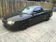 Vy ss ute black red leathers manual Brunswick Moreland Area Preview