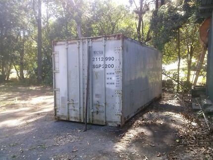 20 ft shipping container. mostly aluminum construction.  Parkhurst Rockhampton City Preview