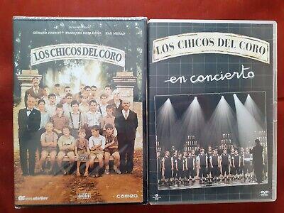 DVD LOS CHICOS DEL CORO PRECINTADO + LOS CHICOS DEL CORO EN...