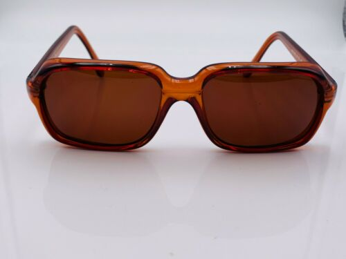 Vintage Murray Brown Oval Horn-Rimmed Sunglasses USA FRAMES ONLY