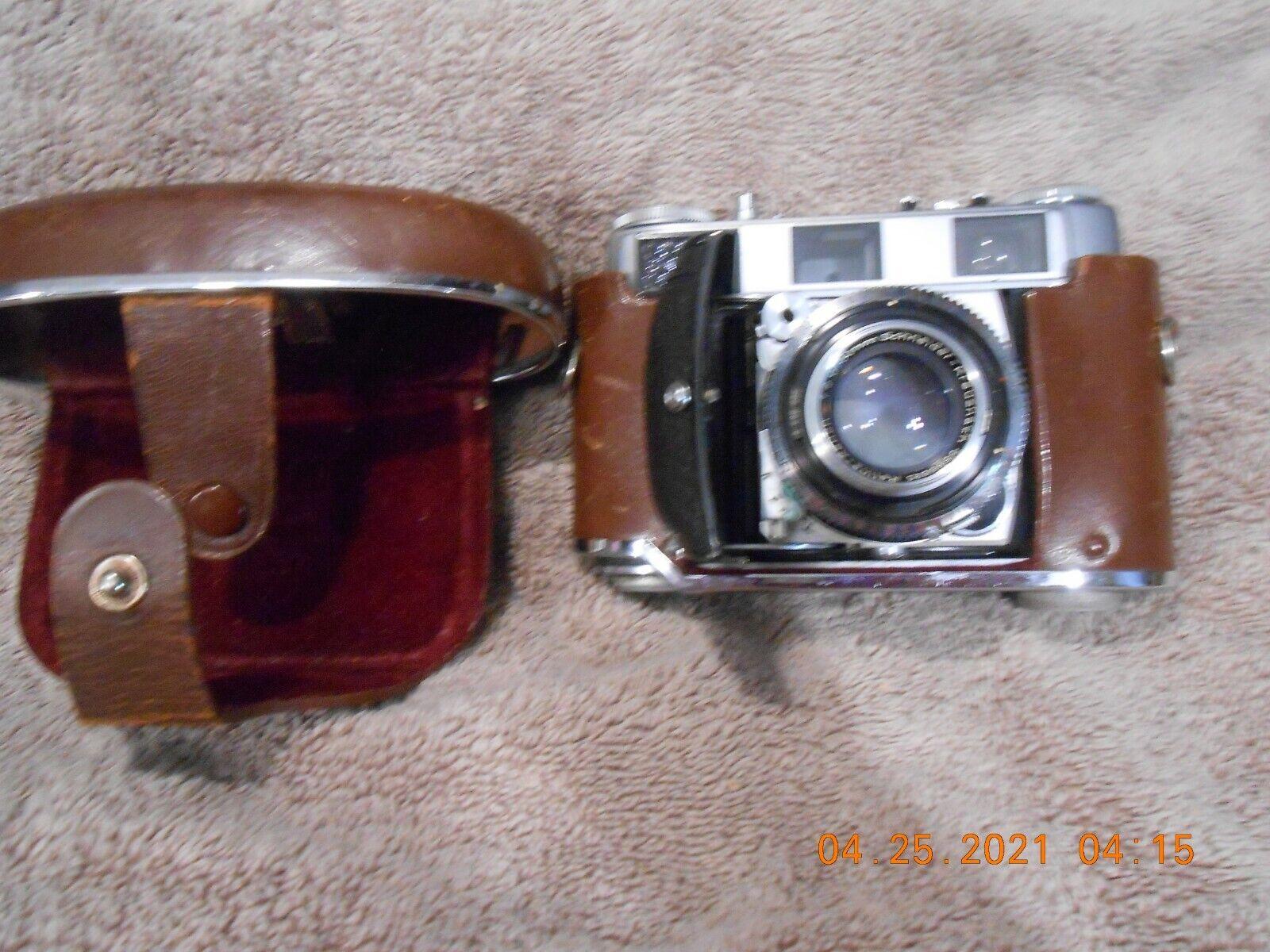 Kodak Retina IIIC 35mm Film Rangefinder Camera Schneider-Kreuznach 50mm F2 Lens - $229.99