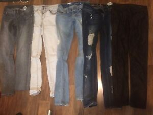 BRAND NAME / DESIGNER JEANS assortment including GUESS