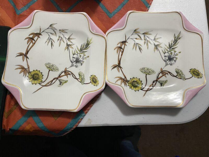 1850 antique vintage plates