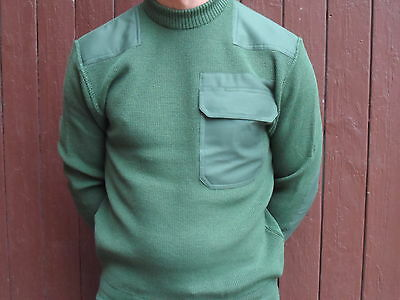 Original Polizei Security BW OUTDOORPULLOVER Angelpullover Pullover moosgrün