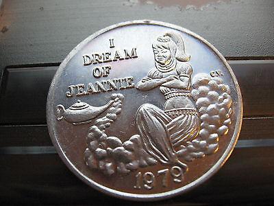 i dream of jeannie barbara eden Mardi Gras Doubloon Coin
