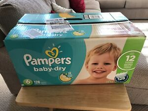 Pampers baby-dry size 6