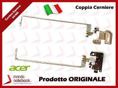 Cerniere Hinges Supporti Per Notebook Acer Aspire E5-551G (Coppia)
