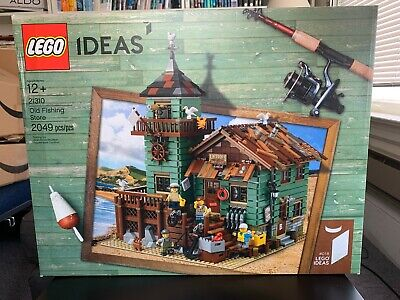 LEGO 21310 Ideas Old Fishing Store - Brand New & Factory Sealed NIB (RETIRED)