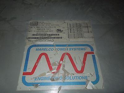 Marelco 205kva 460-415436460 Wye 3ph Indoor Dry Type Transformer Used